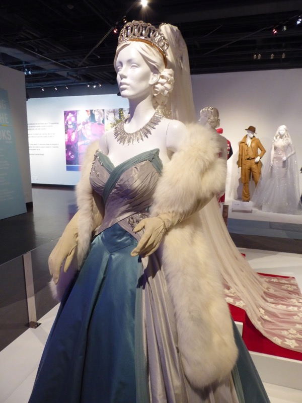 Queen Elizabeth The Crown ballgown