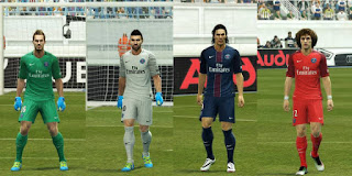 Paris Saint-Germain Kits 2016-2017 Pes 2013