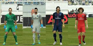 Paris Saint-Germain Kits 2016-2017 Pes 2013