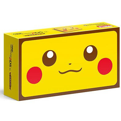 Pikachu nintendo 2ds