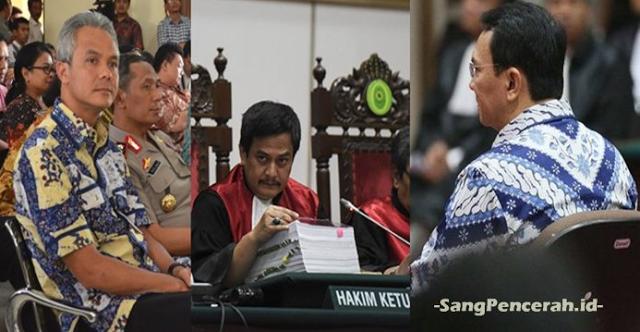 Dua Gubernur 'Tumbang' di Hadapan Hakim Dwiarso Budi, Ganjar dan Ahok