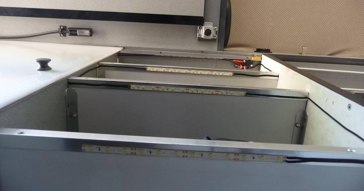 Alcasa bricos luz led interior armarios activada al abrir - Manillas para puertas de aluminio ...