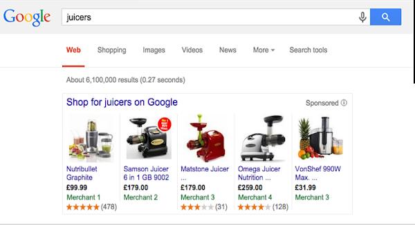 Google Shopping Rating