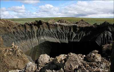 Kaitan Giant Crater Siberia Rusia dan Game Last Day on Earth