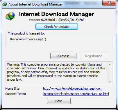 serial key for internet download manager registration