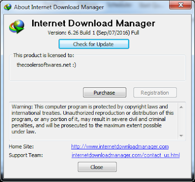 Serial Number IDM 6.26 Build 1 Full Version