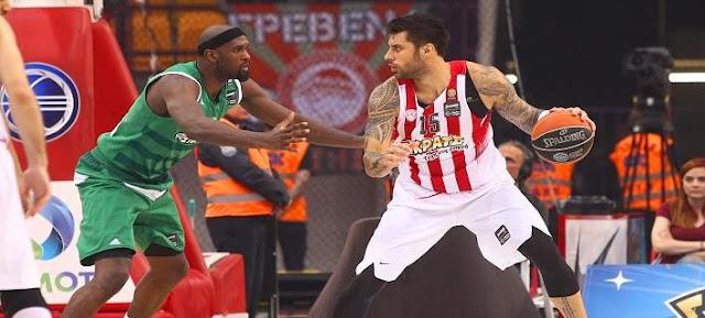 Basket League: Ο Ολυμπιακός το 1-0 στους τελικούς, 63-58 τον ΠΑΟ