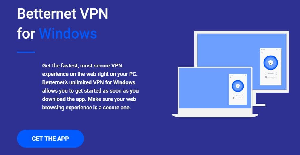 تحميل برنامج فتح المواقع المحجوبة Betternet VPN مجاناً