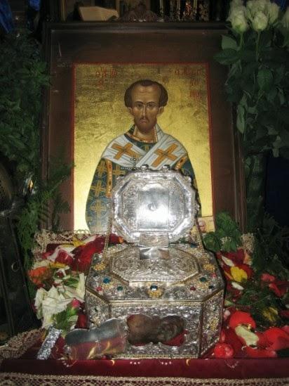 Η κάρα του Αγίου Ιωάννου του Χρυσοστόμου http://leipsanothiki.blogspot.be/