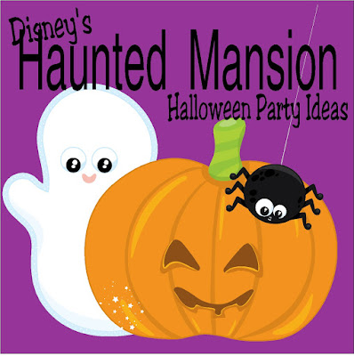 Get ready for Halloween by planning a Haunted Mansion party inspired by Disney and the small business families of Etsy.  #hauntedmansion #halloween #disney #diypartymomblog