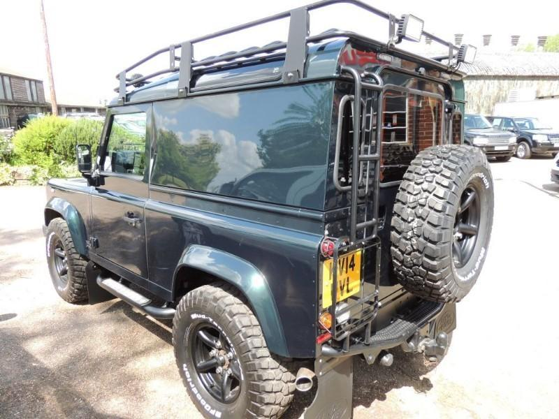 Land Rover Defender Tdci Puma n//s and o//s wing cold air intake duct and pipes