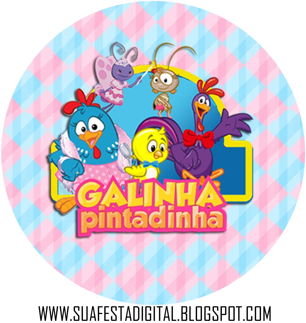 Personalizados Galinha Pintadinha Chique Sua Festa Digital