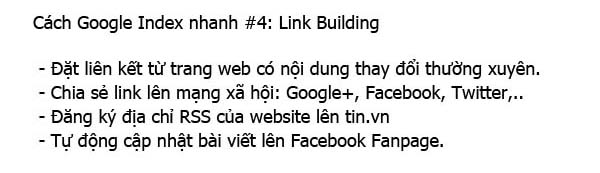 index google link building