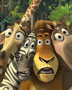 Movie Cinema Theater Film Madagascar Escape 2 Africa