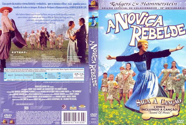 Capa DVD A Noviça Rebelde [Edição de Colecionador]