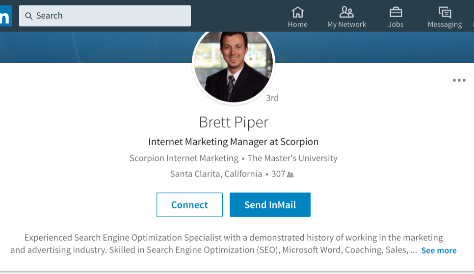 Brett Piper scorpion employee caught writing reviews for clients