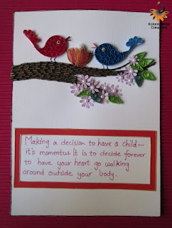 kalanirmitee: Quilled card-birds