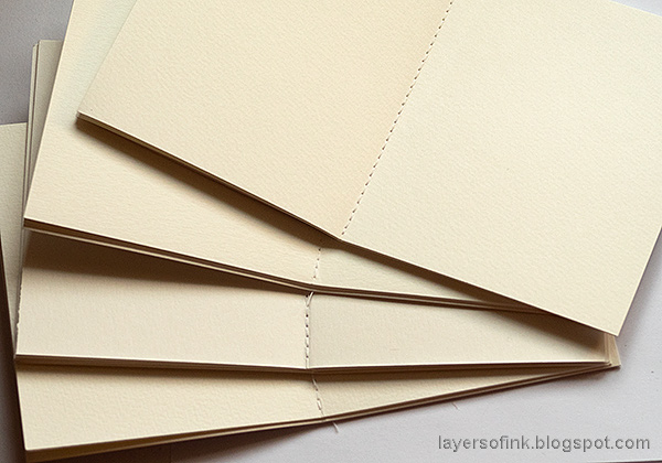 Layers of ink - Faux Leather Wrapped Journal Tutorial by Anna-Karin Evaldsson.