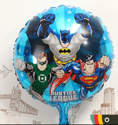 Balon Foil Justice League