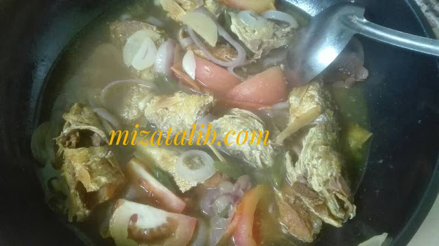 Ikan Gelama Masak Tauchu. resepi ikan gelama,  resepi ikan gelama masak asam ikan gelama masak asam pedas umpan ikan gelama