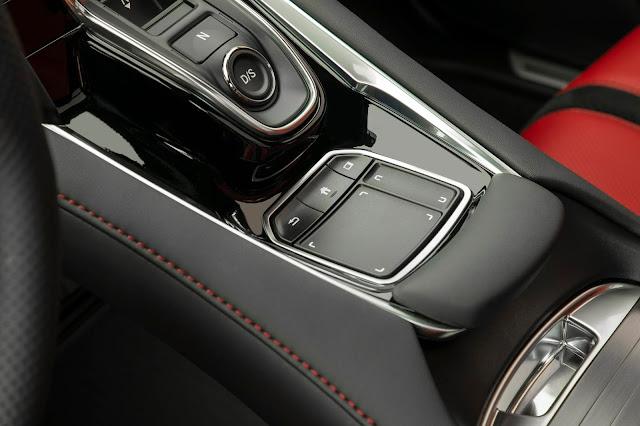2019 Acura RDX trackpad