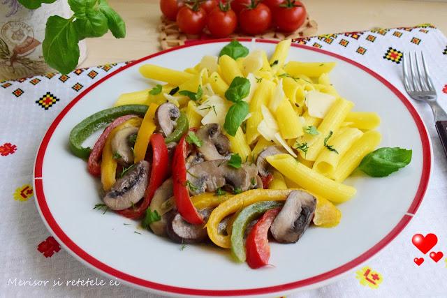paste-fara-gluten-ciuperci-ardei-tricolor-8