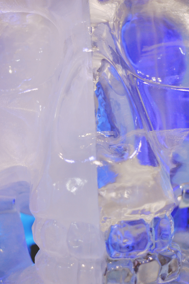 Ice Bar London Skull