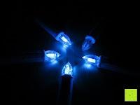 blau: Yorbay® LED Weihnachtskerzen RGB/Warmweiß mit Fernbedienung mit Timerfunktion 10-100stk (20)