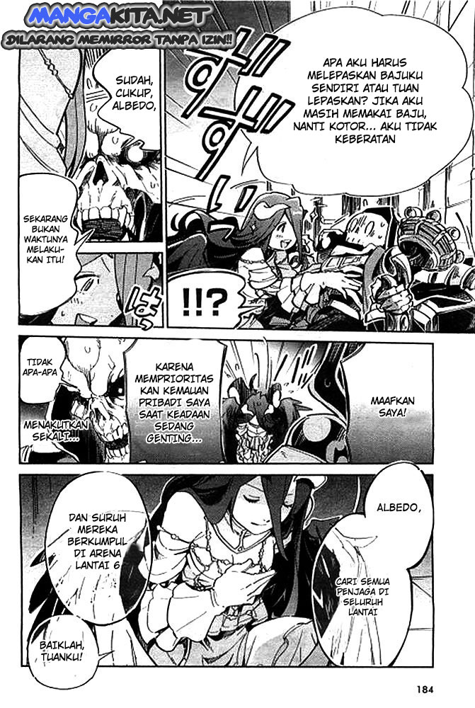 Manga Overlord Chapter  1 Bahasa Indonesia