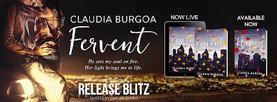 Release Blitz Fervent by Claudia Burgoa