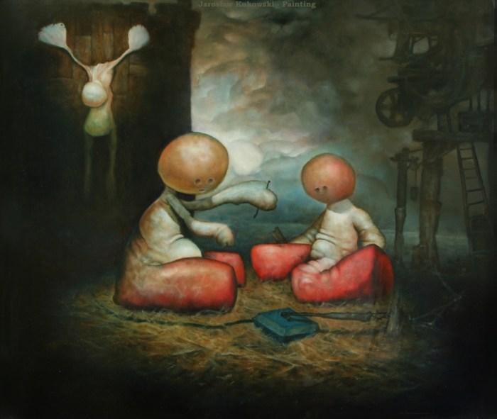 Сюрреалистический мир. Jaroslaw Kukowski
