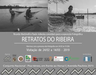 """Exposição Fotográfica 'Retratos do Ribeira"""" em São Paulo"""