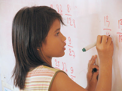 Maths in classroom by Charles Pieters on Flickr