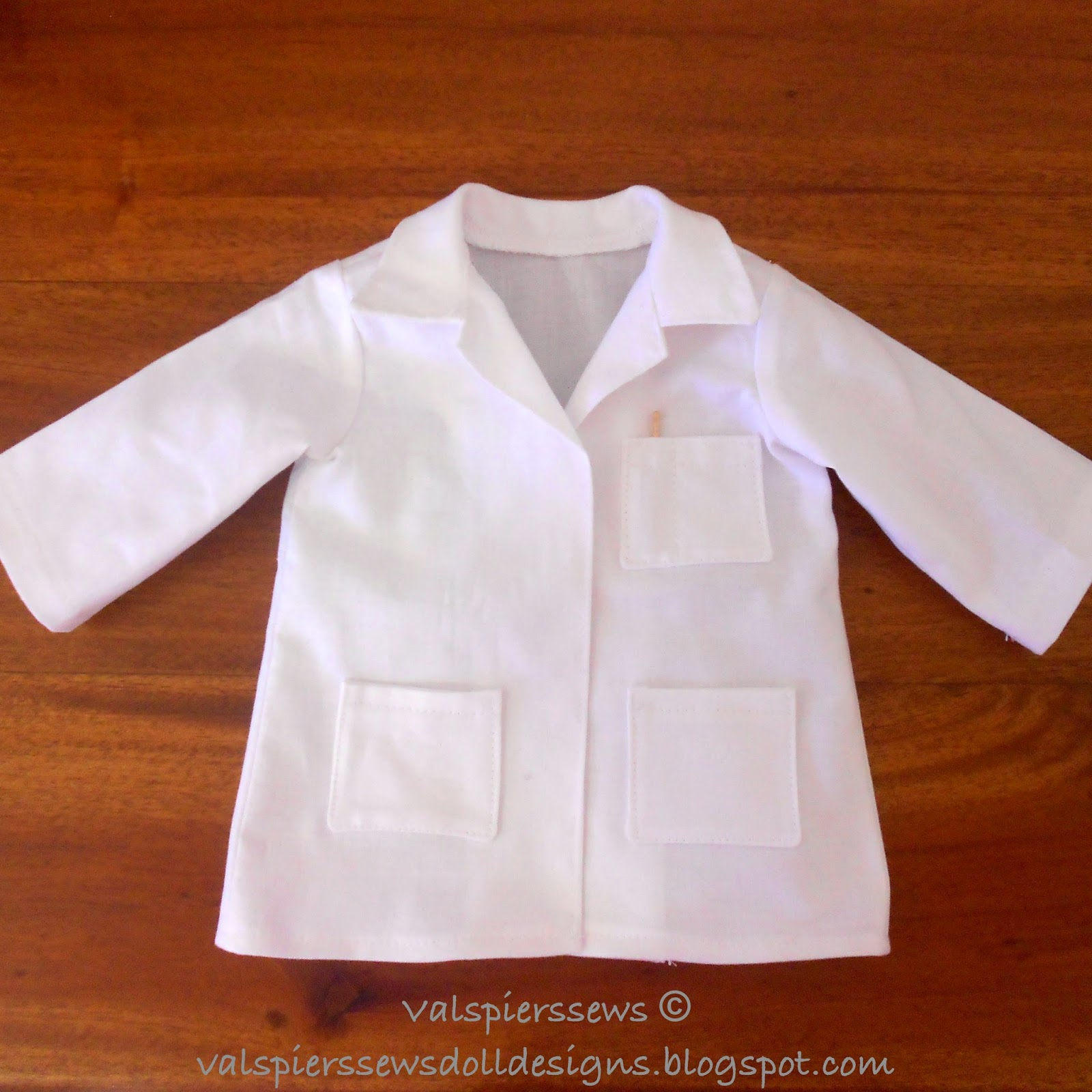Doll clothes patterns by valspierssews doll lab coat fashion file fashion files are free tutorials to help you get even more from your purchased patterns jeuxipadfo Gallery