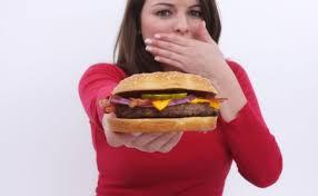 Tidak makan berminyak dan junkfood
