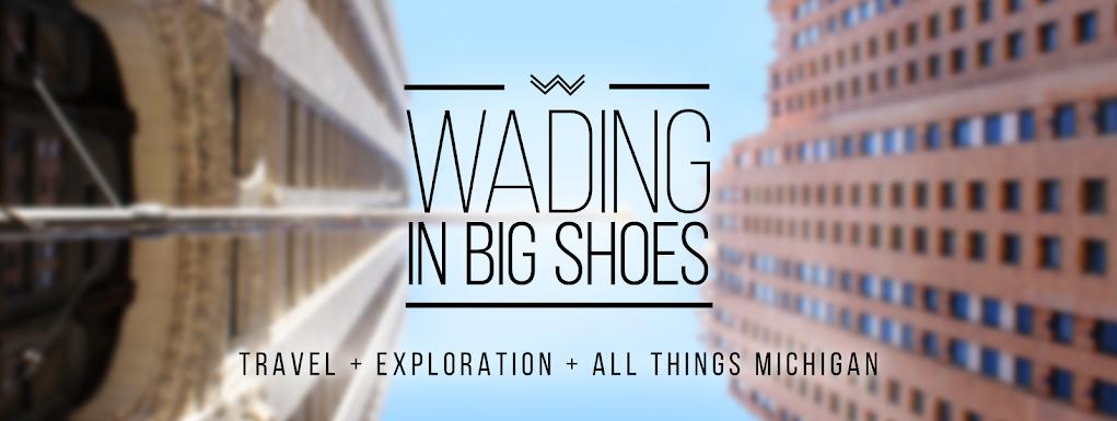 Wading in Big Shoes