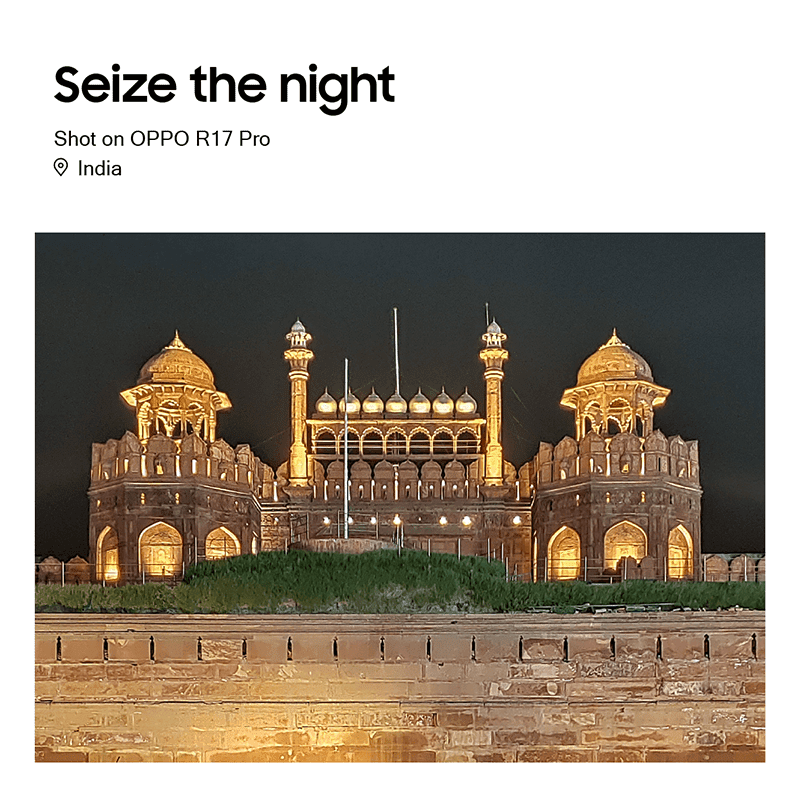 Night shot in India