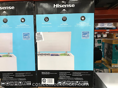 Hisense Chest Freezer (FE703): great to put in the garage