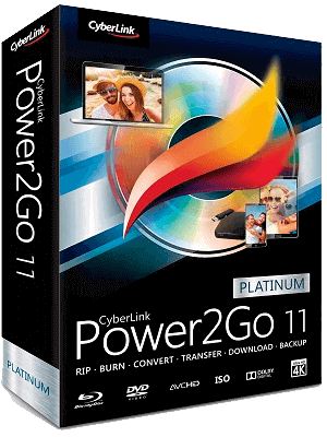 Power2Go Platinum box