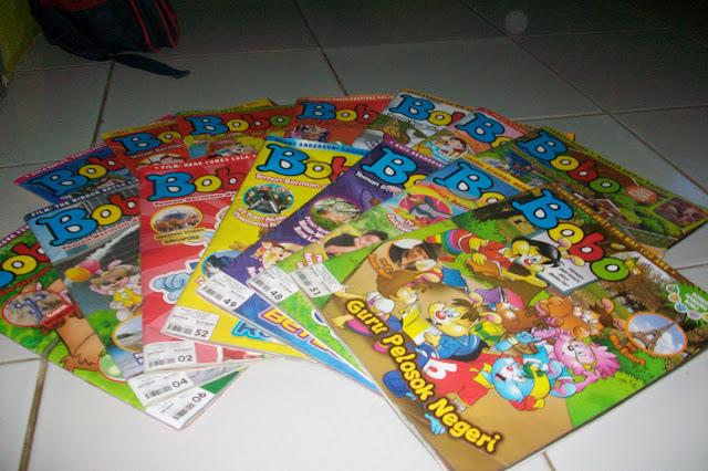 Image result for koleksi majalah bobo