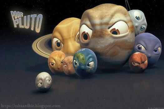 Alasan Mengapa Pluto Bukan Lagi Sebuah Planet