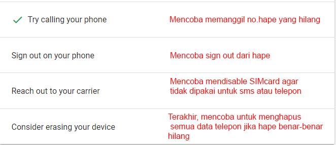 8 langkah melacak HP Oppo yang hilang!