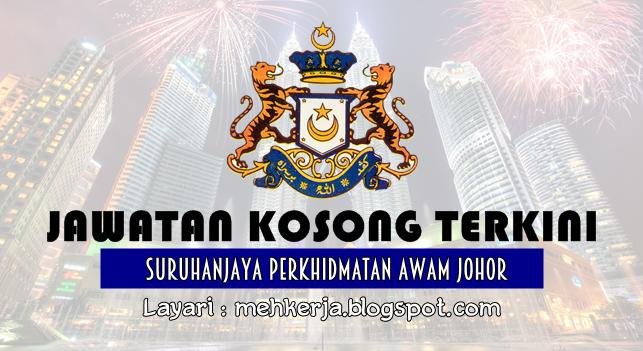 Jawatan Kosong Terkini 2016 di Suruhanjaya Perkhidmatan Awam Johor