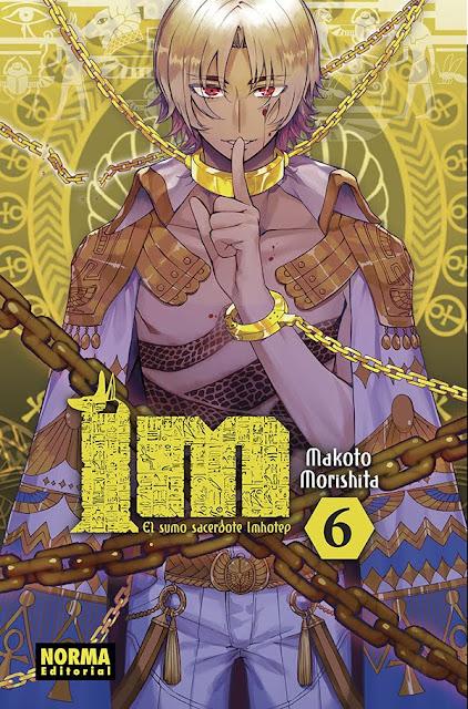 """Reseña de """"Im ~ El Sumo Sacerdote Imhotep"""" (Im~イム~) vols. 4, 5 y 6"""