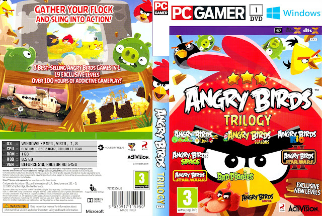 Capa Angry Birds Trilogy PC