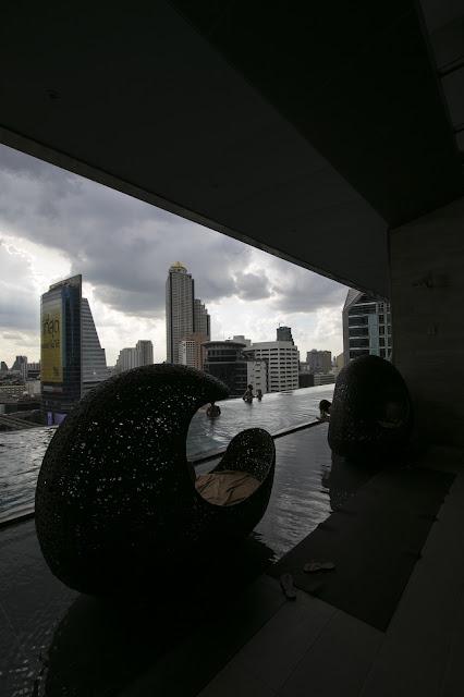 Piscina dell'hotel Eastin Grand Sathorn-Bangkok