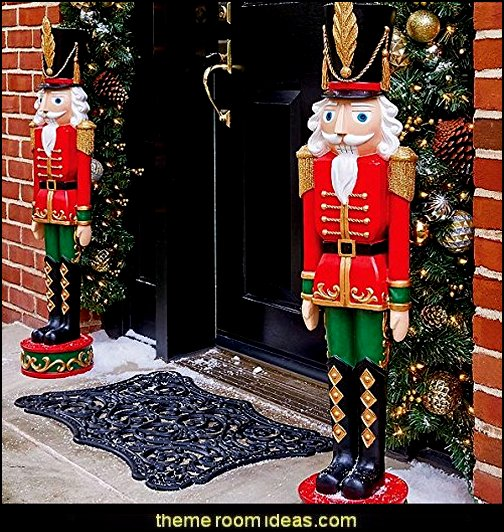 Nutcracker Toy Soldier Statue Christmas gifts - Christmas shopping - Christmas decorations - Santas shopping mall - Christmas decorating - gift ideas for mothers - gifts for men - gift ideas for women -  gift ideas for girls - gift ideas for boys -