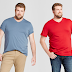 Target: $2.98 (Reg. $9.99) Goodfellow & Co Men's Big & Tall Standard Fit Short Sleeve V-Neck T-Shirt!