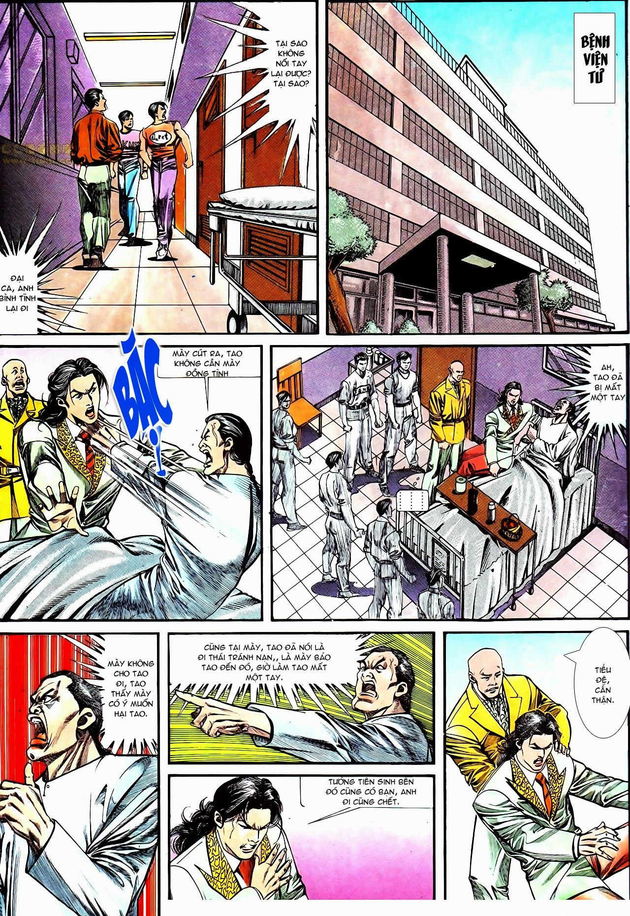 Người Trong Giang Hồ chapter 130: cô ta đến từ giang hồ trang 15