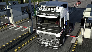 ETS2 no barrier mod - disable toll gates